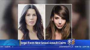 News video: 2 Women To Detail Sexual Harassment By Steven Segal