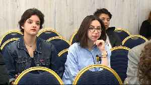 News video: Tunisian students developing app to protect women