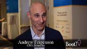 News video: Look Beyond Media Tactics To Brand Strategy: Simmons CEO Feigenson