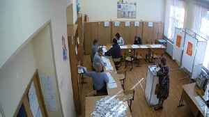 News video: Watch: CCTV footage shows alleged ballot-stuffing in Russia elections