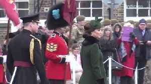News video: Right Now: Prince William and Kate Middleton Attend St. Patrick's Day Parade in West London