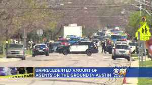 News video: After 4th Austin Explosion PD Says They're Dealing With
