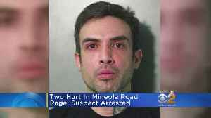 News video: Road Rage Arrest In Mineola