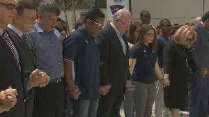 News video: Moment of silence for Florida bridge collapse victims