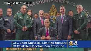 News video: Gov. Scott Signs Bill To Combat Opioid Crisis In Florida