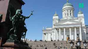 News video: Finland Tops The UN World Happiness List