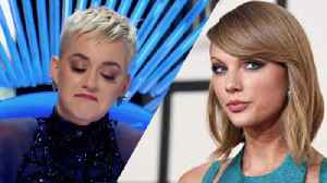 News video: Katy Perry SHADES Taylor Swift On American Idol!