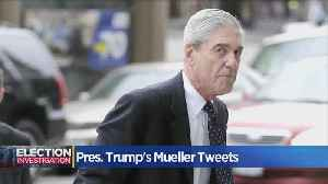 News video: Trump Continues Twitter Attacks On Mueller