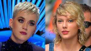 News video: Katy Perry SHADES Taylor Swift After American Idol Contestant Gushes Over Her