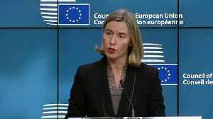 News video: EU offers UK 'unqualified solidarity' after poison attack