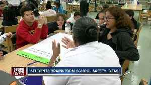 News video: Hillsborough County middle school students asked to brainstorm school safety ideas