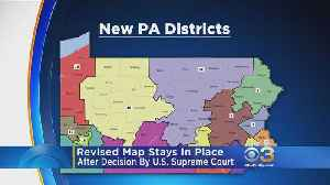 News video: Pennsylvania District Map Lawsuit Rejected