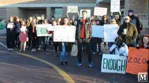 News video: Pennridge High School students turn detention over walkout into gun violence protest