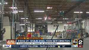 News video: Rising up, Marlin Steel finds new direction