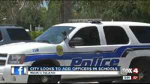 News video: Police chief is asking Marco Island leaders for more officers for schools