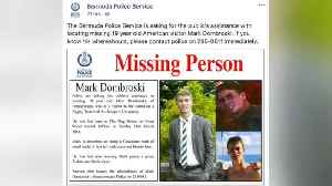 News video: Body of Missing American Student Found In Bermuda