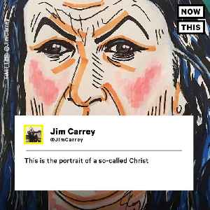 News video: Jim Carey Painted Sarah Huckabee Sanders — And Conservatives Are Pissed
