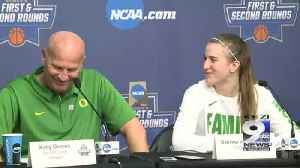 News video: Web Extra: Oregon Women's Basketball After Win Over Seattle