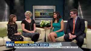 News video: Happening Now: Natural Family Expo