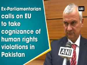 News video: Ex-Parliamentarian calls on EU to take cognizance of human rights violations in Pakistan