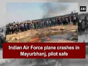 News video: Indian Air Force plane crashes in Mayurbhanj, pilot safe