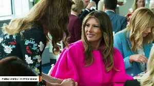 News video: Melania Trump Says She's Aware Of Skepticism About Her Cyberbullying Initiative