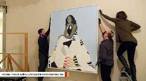 News video: National Portrait Gallery Relocates Michelle Obama's Portrait Due To High Volume Of Visitors