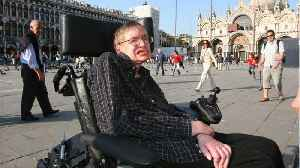 News video: Stephen Hawking's Ashes To Be Interred At Westminster Abbey