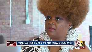 News video: Training single moms for the cannabis industry