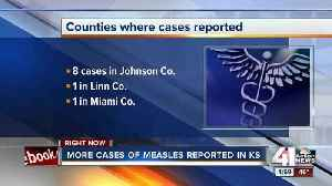 News video: 10 cases of measles reported in Kansas
