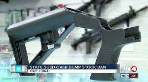 News video: Lawsuit against Florida over bump stock ban