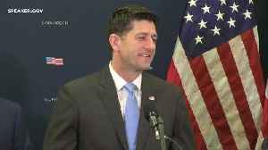 News video: Paul Ryan Says He's 'Received Assurances' That Mueller Won't Be Fired