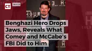 News video: Benghazi Hero Drops Jaws, Reveals What Comey And Mccabe's Fbi Did To Him