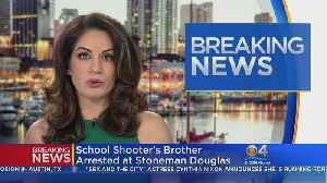 News video: Brother Of Stoneman Douglas Shooter Arrested For Trespassing At School
