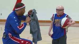 News video: Wisconsin Boy With Rare Disease Gets Harlem Globetrotters Birthday Surprise