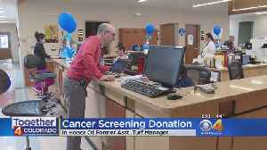 News video: Broncos Players Focus On Colorectal Cancer Screening