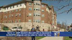 News video: IUP President Makes Decision On Controversial Class