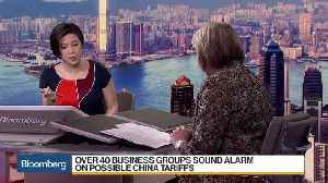 News video: Over 40 Business Groups Sound Alarm Over China Tariffs