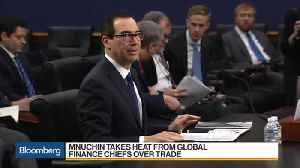 News video: Mnuchin Takes Heat Over Trade at G-20
