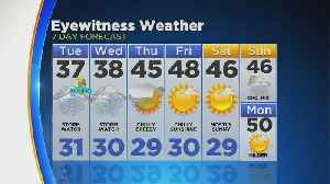 News video: WEATHER UPDATE: March 19, 2018: 10PM