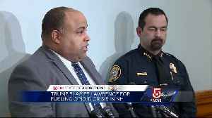 News video: 'Shame on the president.' Mayor blasts Trump for blaming Mass. city for opioid crisis