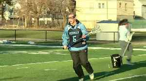 News video: Medaille's Kelsey Beres back playing the game she loves
