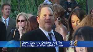 News video: Gov. Cuomo Orders Review Of 2015 Weinstein Case