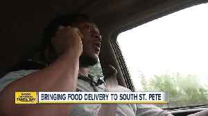 News video: USF grad wants to be the Uber Eats of South St. Pete where people can't count on delivery companies