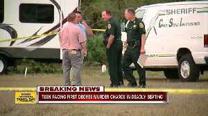 News video: Teen facing first degree murder charge after beating his best friend with baseball bat