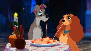 News video: Lady and the Tramp to become Disney's latest live-action remake