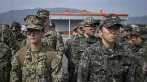 News video: US and South Korea to Resume Joint Military Drills April 1