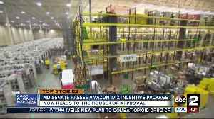 News video: MD Senate passes Amazon incentive package