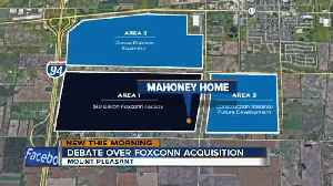 News video: Landowners ready for Foxconn public hearing Tuesday