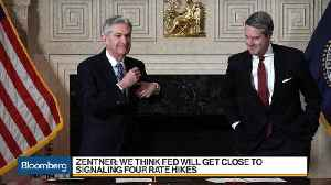 News video: Morgan Stanley's Zentner Says Fed Will Get Close to Signaling Four Rate Hikes